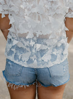 Crystal High Rise Cutoff Shorts-Shorts-Womens-Southern-Boutique-Shop