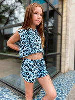 Lazy Leopard Shorts--Womens-Southern-Boutique-Shop