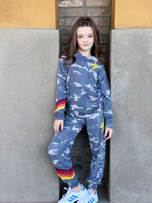Camo Bolt Joggers--Womens-Southern-Boutique-Shop