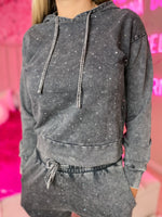Concrete Bling Hoodie--Womens-Southern-Boutique-Shop