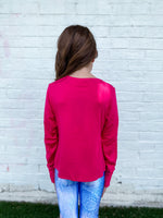 PSM Pink Top--Womens-Southern-Boutique-Shop