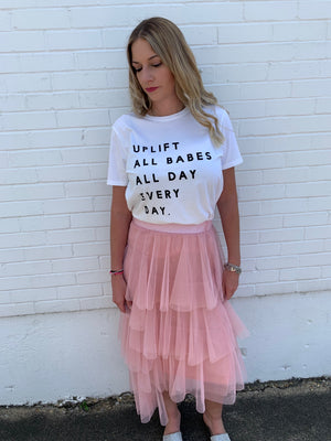 Uplift All Babes Tee--Womens-Southern-Boutique-Shop