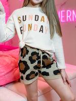 Sunday Funday Waffle Shirt--Womens-Southern-Boutique-Shop