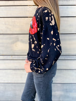 Sequin Lips Sweatshirt--Womens-Southern-Boutique-Shop