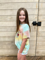 Wild Heart Tie Dye Tee--Womens-Southern-Boutique-Shop