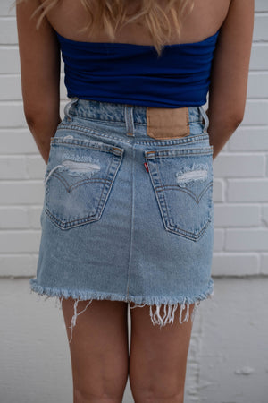 Star Distressed Skirt - Pretty Southern Mess