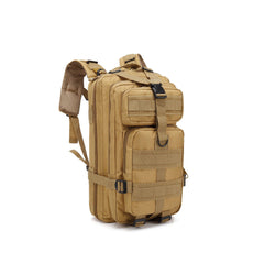 mud brown adjustable military tactical backpack