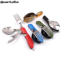 4 in 1 Multi-Function Folding Cutlery 5 colors