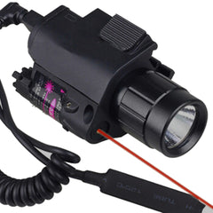 2 in 1 Tactical Laser Sight and Flashlight