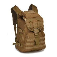 40L Assault Pack For Camping And Tactical Gear Khaki