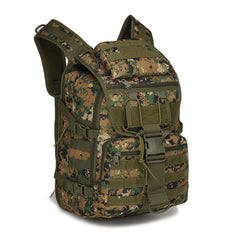 40L Assault Pack For Camping And Tactical Gear Jungle Camo