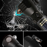 Solar Emergency Flashlight Multi-Tool