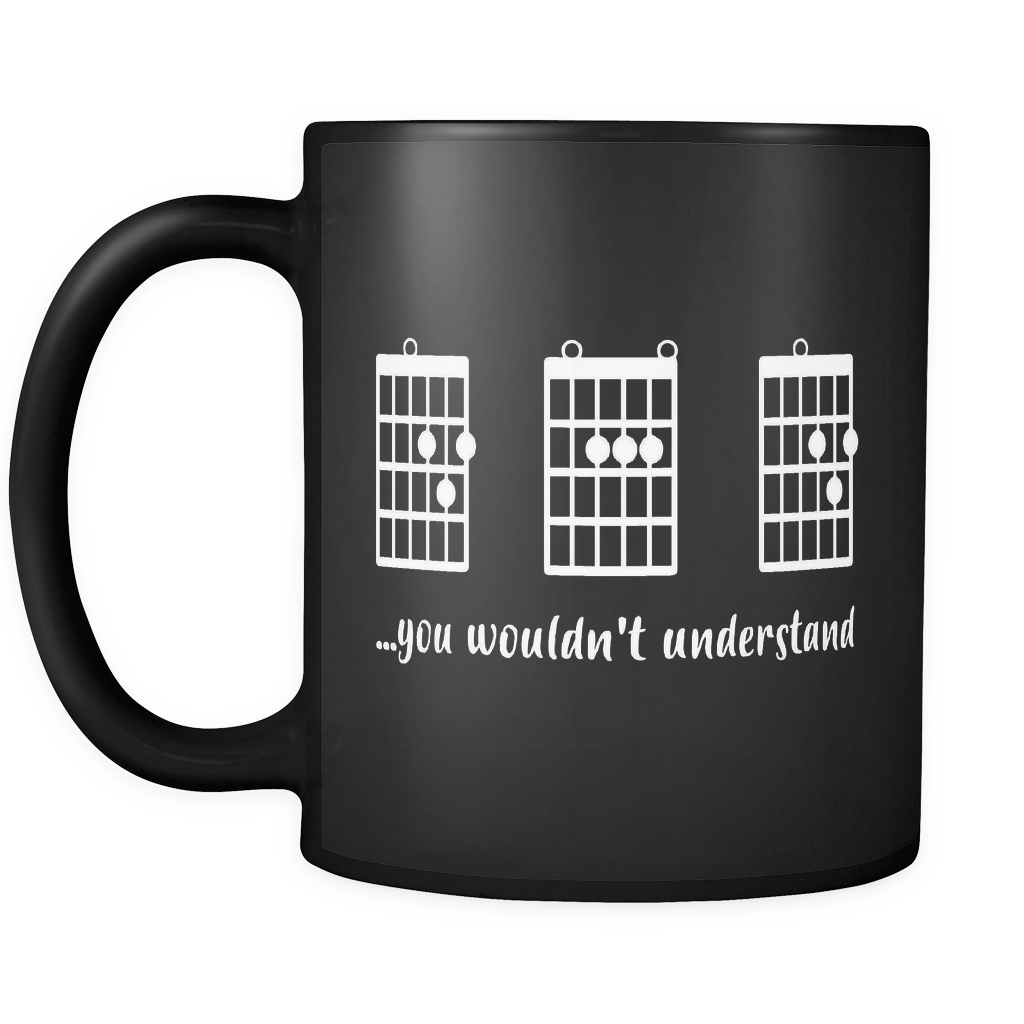 F Chord Dad Funny Guitar Mugs Unique Fathers Day Gift Izcentral