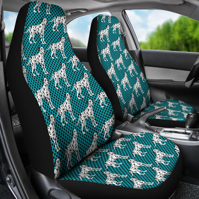 3D Polka Dots Cute Dalmatian Printed Little Dog Car Seat Covers Store For Sale