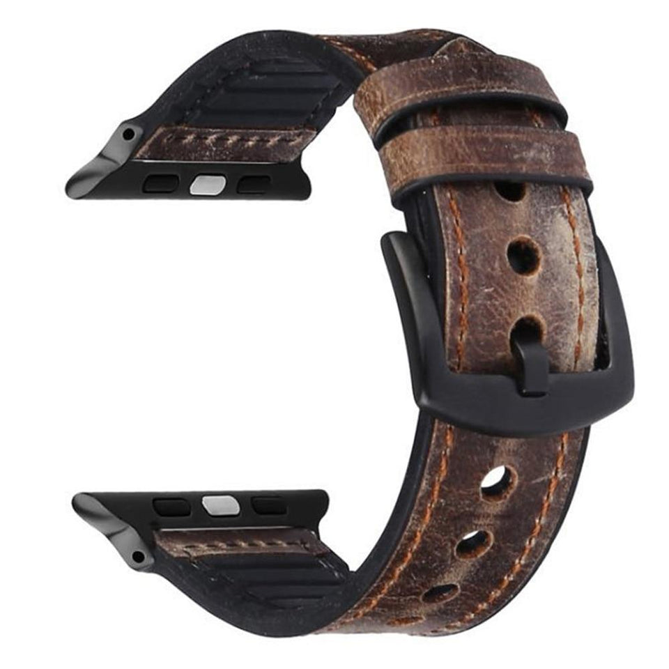 Leather Fashion Band for Apple Watch Series - Ask Gab
