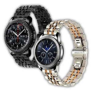 Jubilee stainless steel Samsung watch bracelet - Ask Gab