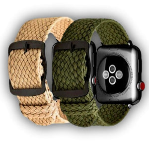 Nylon Perlon Band for Apple watch series 5 4 3 - Ask Gab