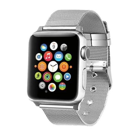 Milanese stainless steel bracelet for Apple watch - Ask Gab