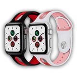 New design soft silicone Apple watch band - Ask Gab