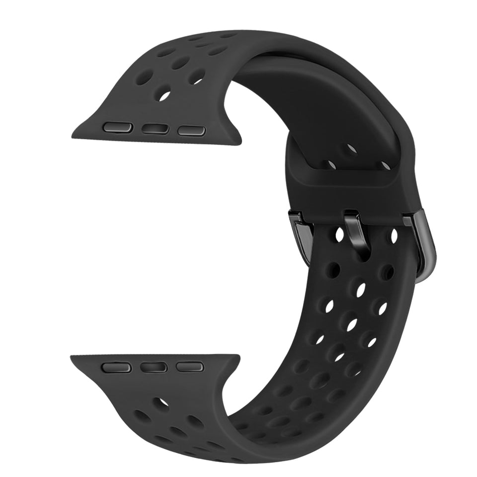 Single Color Sport Band for Apple Watch Buckle - Ask Gab