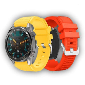 Casual style Samsung Gear S2/S3 silicone bands - Ask Gab