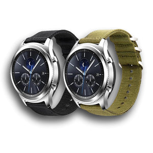 Nato style Samsung galaxy gear S3 S2 nylon band - Ask Gab