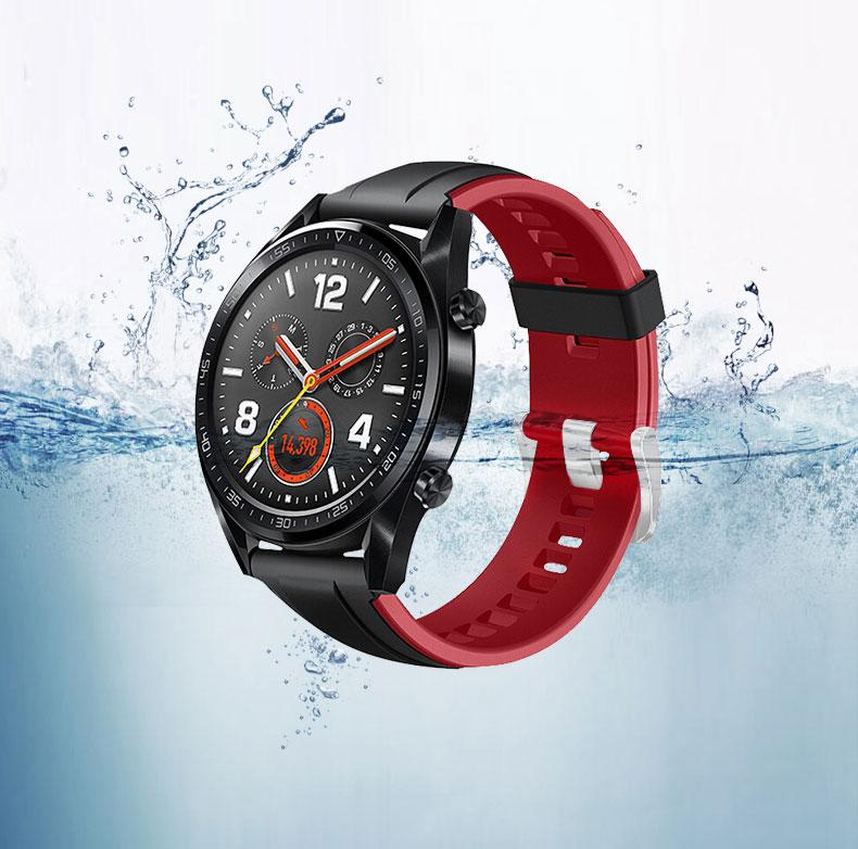 Casual dual color Samsung Silicon band Galaxy 46mm Gear S3 - Ask Gab