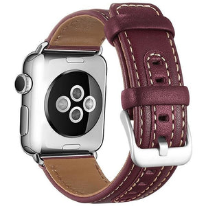 Canvas and leather Apple watch sport band - Ask Gab