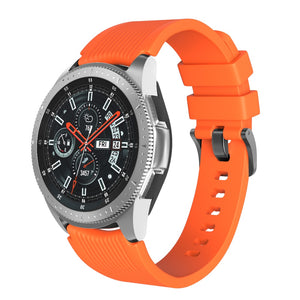 Single color Samsung Gear S3/S2 Buckle silicone band - Ask Gab