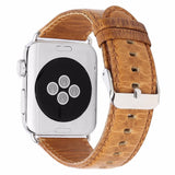Crazy Horse Leather Band for Apple Watch - Ask Gab