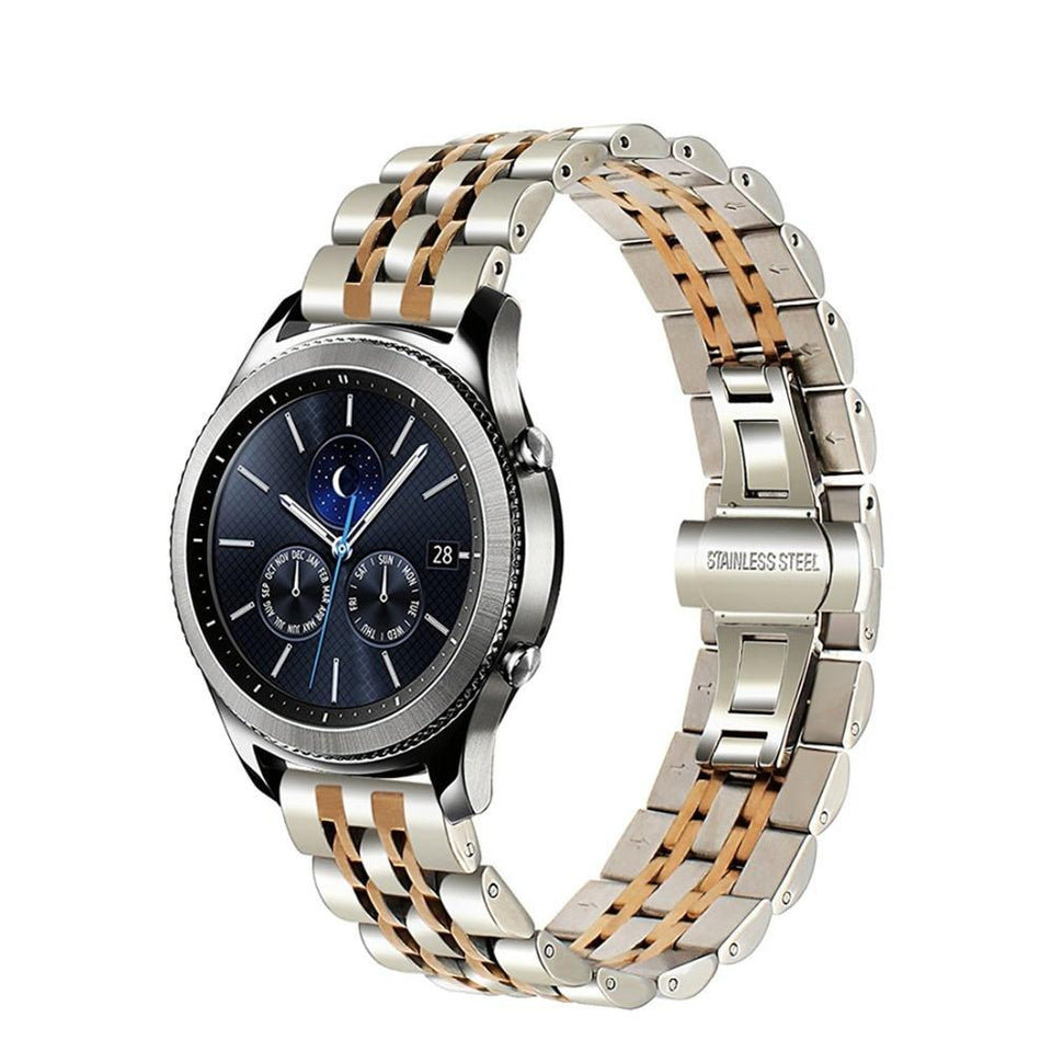 Stainless Steel Bracelet for Samsung Watch 46mm Gear S3 - Ask Gab