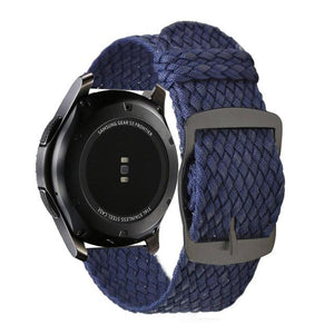 Perlon band Samsung galaxy watch 46mm gear S3 - Ask Gab