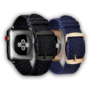 Braided perlon Apple watch nylon band - Ask Gab