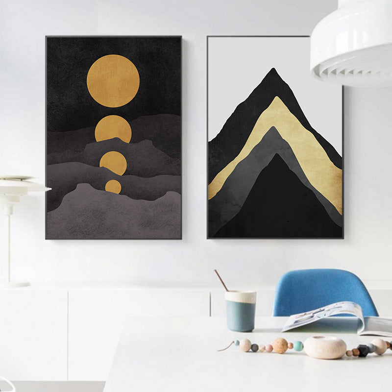Moons and Mountains