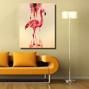 Dripped Flamingo