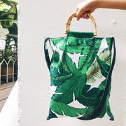 Bohemian fashion can fold beach bag - Slow Living Lifestyle