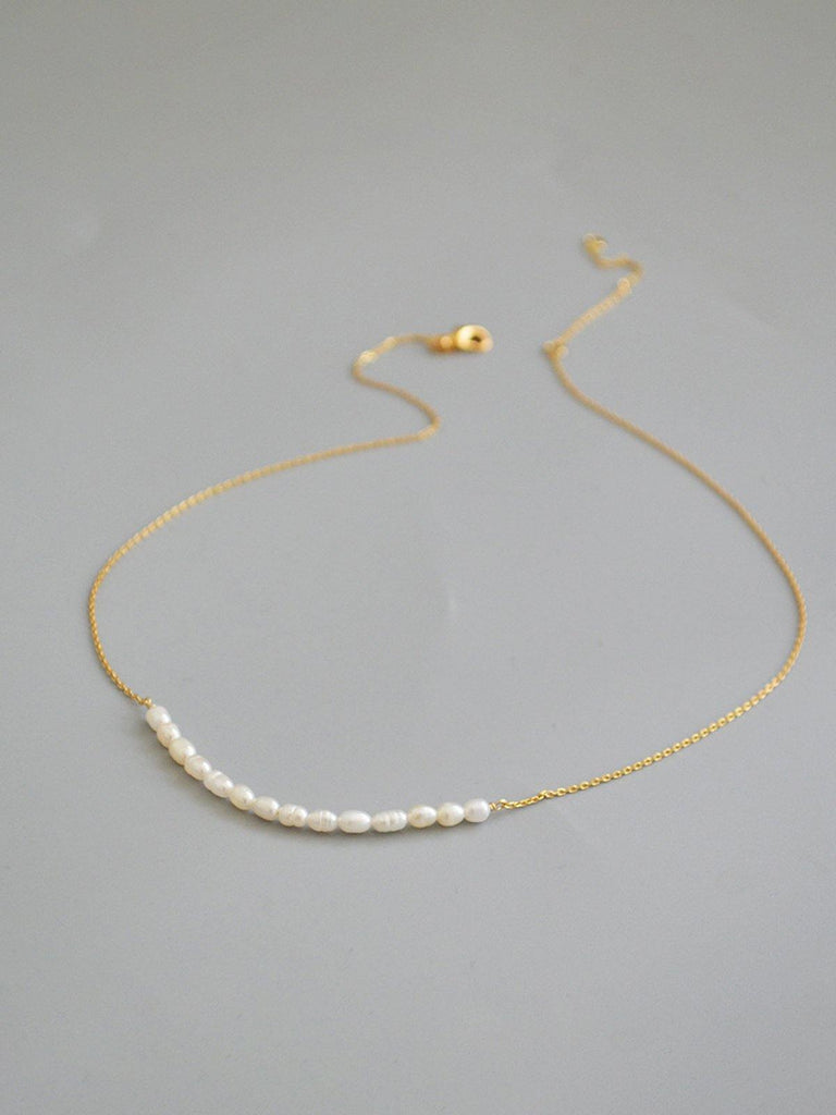 Essential Pearl Necklace - Slowliving Lifestyle