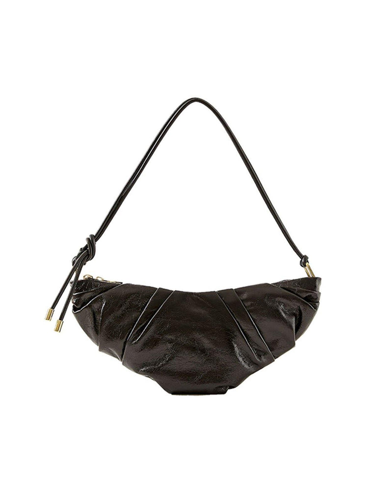 Peco Black Croissant Bag - Slowliving Lifestyle