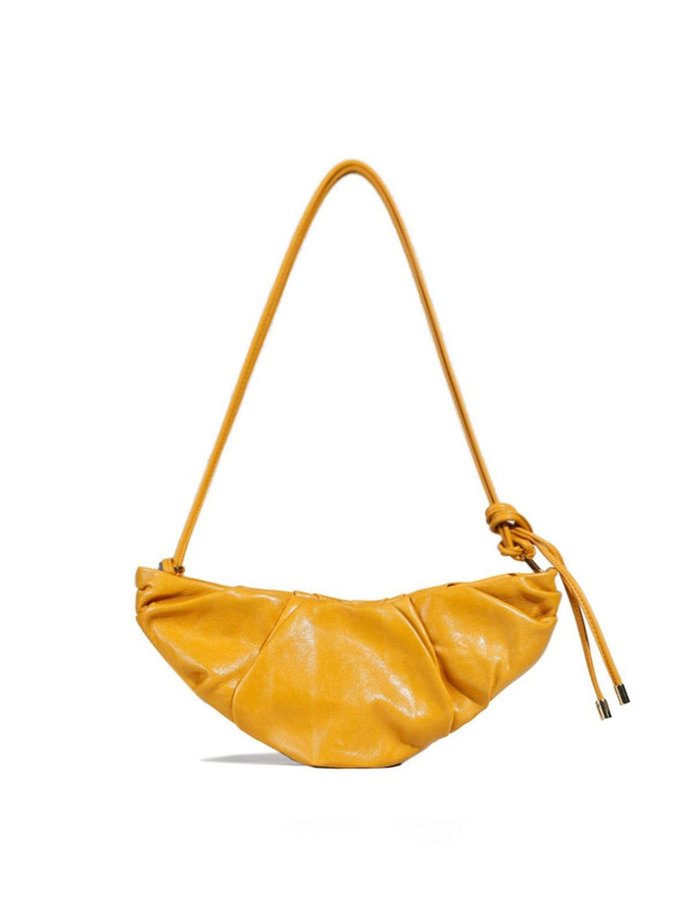 Peco Yellow Croissant Bag - Slowliving Lifestyle