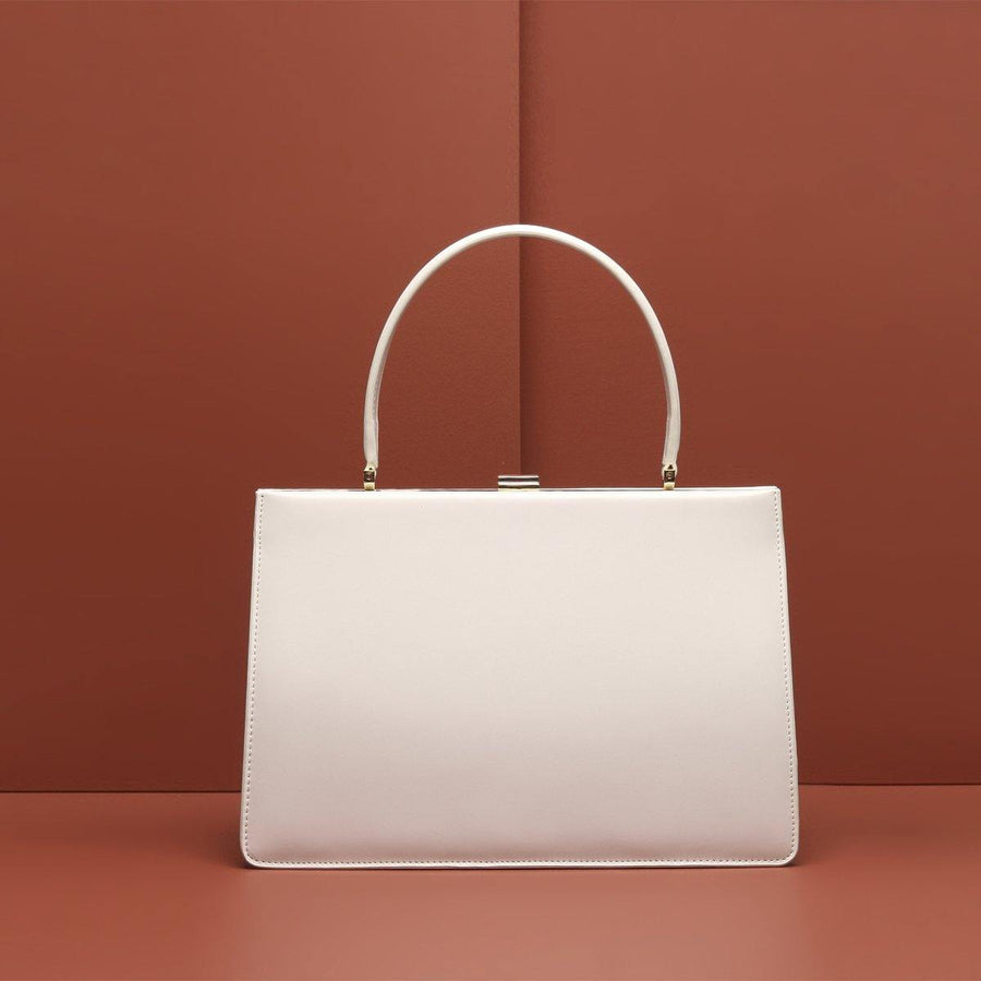 Office Collection Briefcase Bag - White