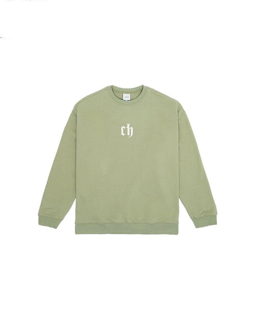 Chinism Sweatshirt- Mint Green - Slowliving Lifestyle