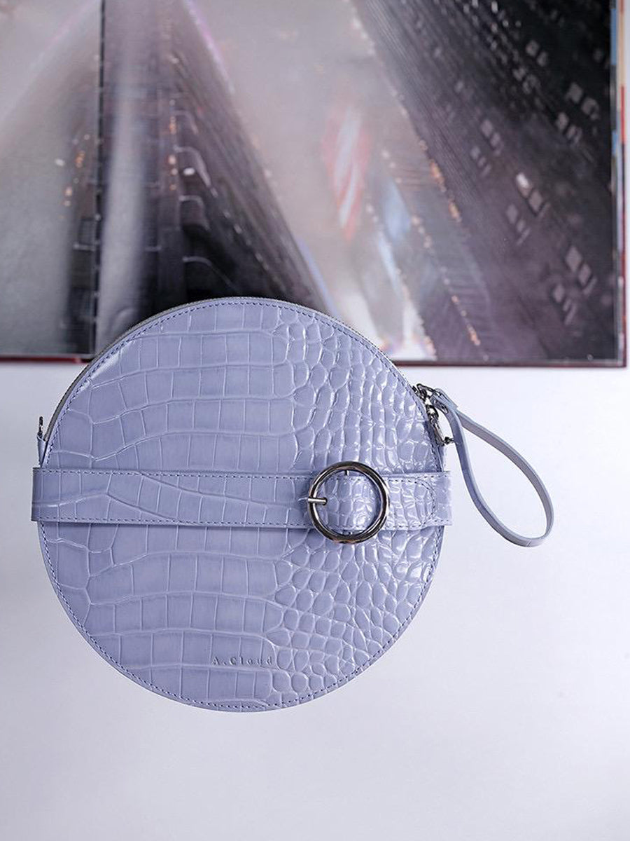 A.Cloud Future Notes Round Clutch - Slow Living Lifestyle