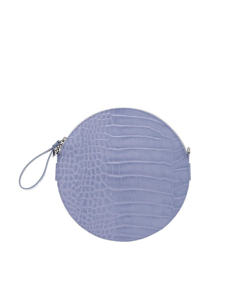 A.Cloud Violet Future Notes Round Bag - Slowliving Lifestyle