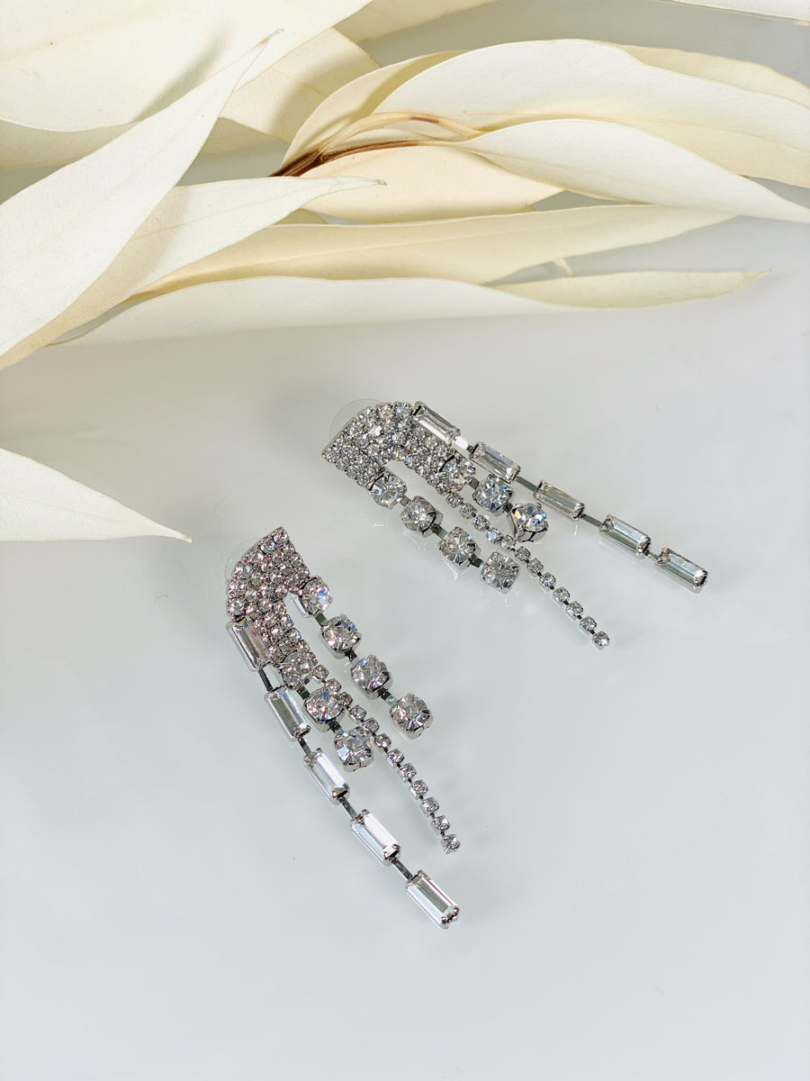 Crystal Fringe Earring - Slow Living Lifestyle
