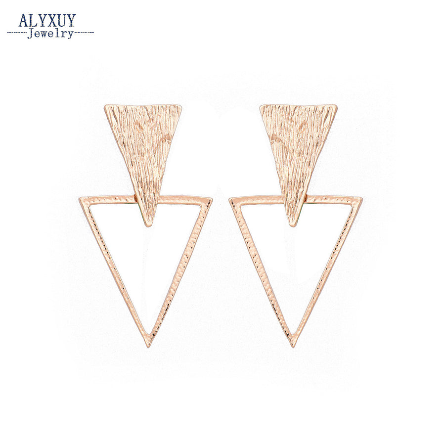 New fashion Geometric Triangle drop earring
