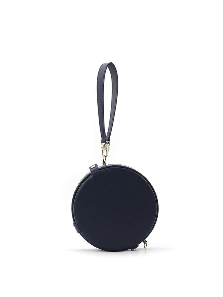 A.Cloud Navy Blue Balance Collection Round Bag - Slowliving Lifestyle
