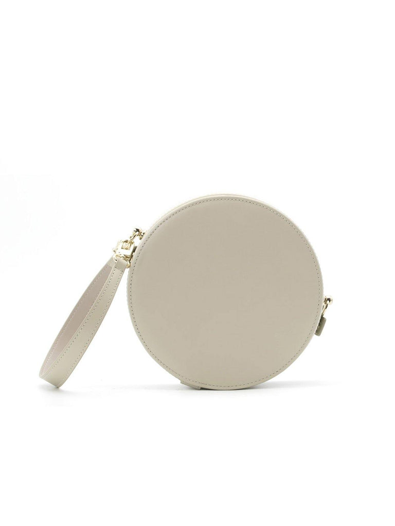 A.Cloud Cream Grey Balance Collection Round Bag - Slowliving Lifestyle