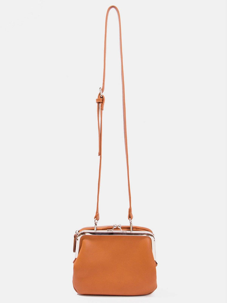 Dirty Six Two Pocket Clasp Bag - Carrot - Slowliving Lifestyle