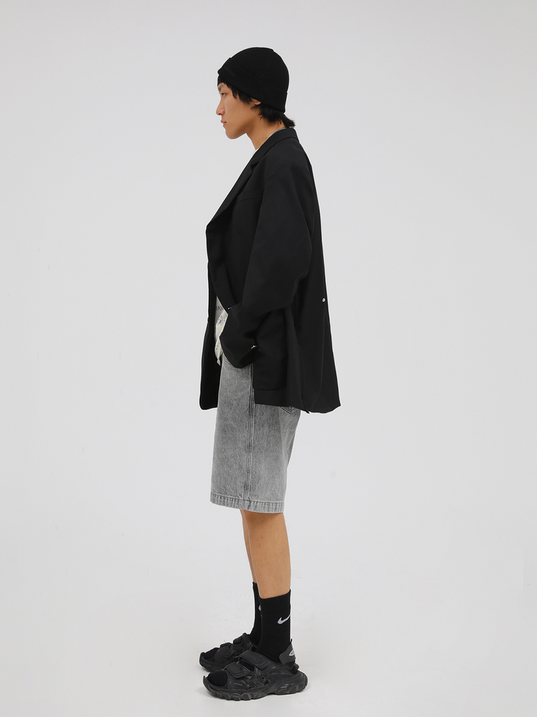 Over Size Wool Blazer - Slowliving Lifestyle