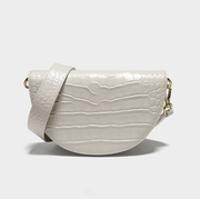 Smting Home Half-moon Croc Leather Cross Body Bag - Slow Living Lifestyle